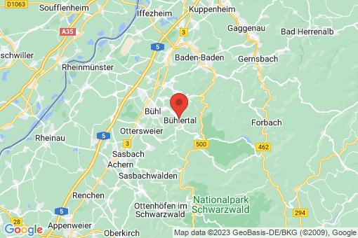 Karte Bühlertal