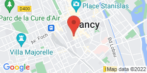 Carte de IZAC Nancy