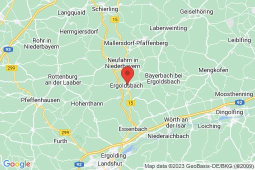 Karte Ergoldsbach