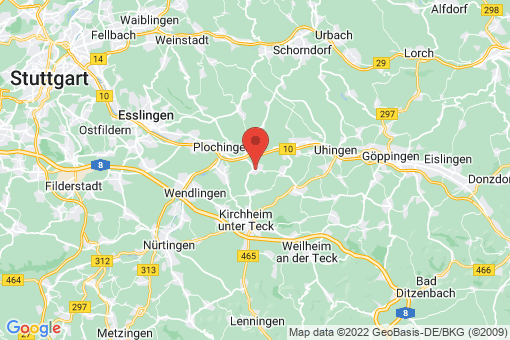 Karte Hochdorf
