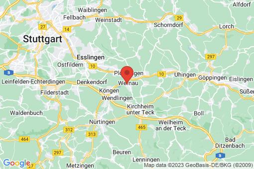 Karte Wernau