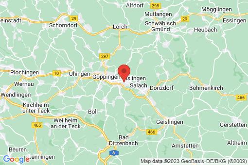 Karte Eislingen/Fils