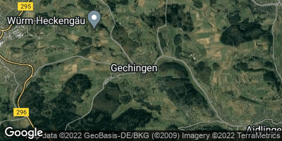 Google Map of Gechingen