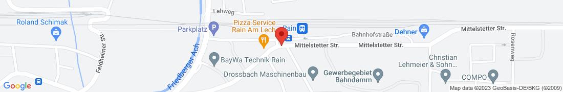 BayWA Agrar Rain Großhandel Anfahrt
