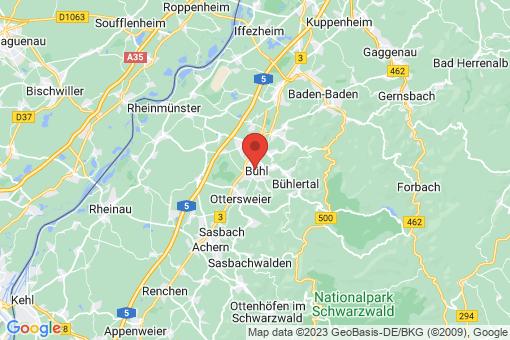 Karte Bühl