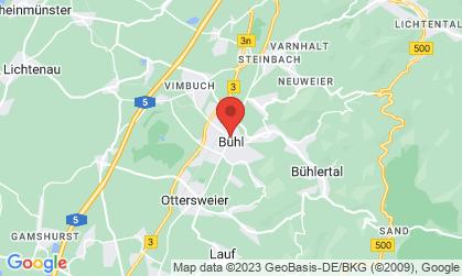 Arbeitsort: Großraum Bühl