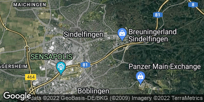Google Map of Sindelfingen