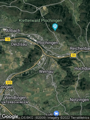 Google Map of Wernau