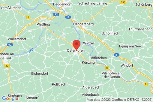 Karte Osterhofen