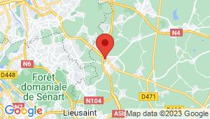 Carte de localisation du centre de contrôle technique BRIE COMTE ROBERT