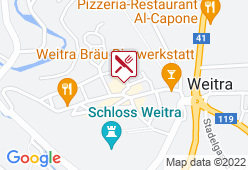 Brauhotel Weitra - Karte