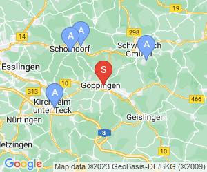 Karte für Fitnesspark Gymnasion DAV Hohenstaufen-Göppingen
