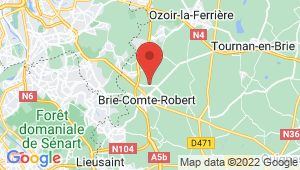 Carte de localisation du centre de contrôle technique VILLENEUVE LA GARENNE