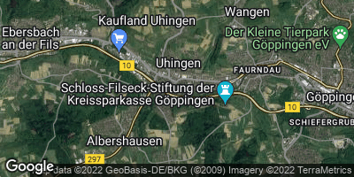 Google Map of Uhingen