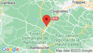 Carte de localisation du centre de contrôle technique LE PERRAY EN YVELINES