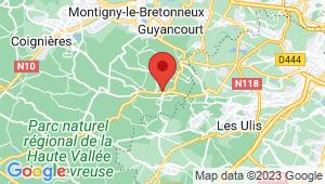 Carte de localisation du centre de contrôle technique SAINT REMY LES CHEVREUSE