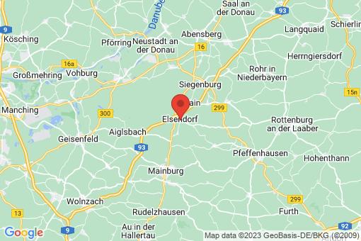 Karte Elsendorf