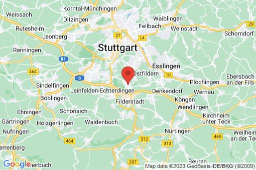 Karte Stuttgart Birkach