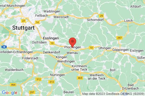 Karte Plochingen