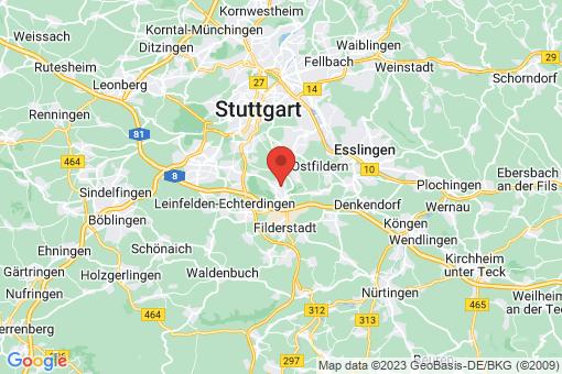 Karte Stuttgart Hohenheim