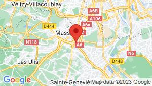 Carte de localisation du centre de contrôle technique CHILLY MAZARIN