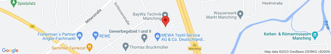 BayWa Technik Manching Anfahrt