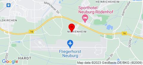 Google Map für Monteurzimmer 86633 Neuburg