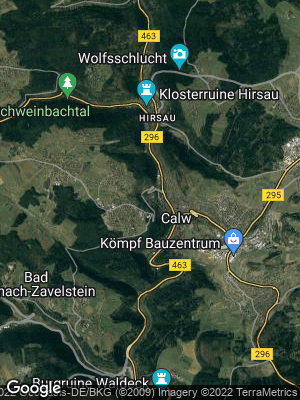 Google Map of Calw
