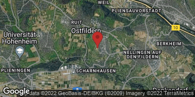 Google Map of Nellingen-Parksiedlung