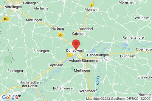 Karte Donauwörth