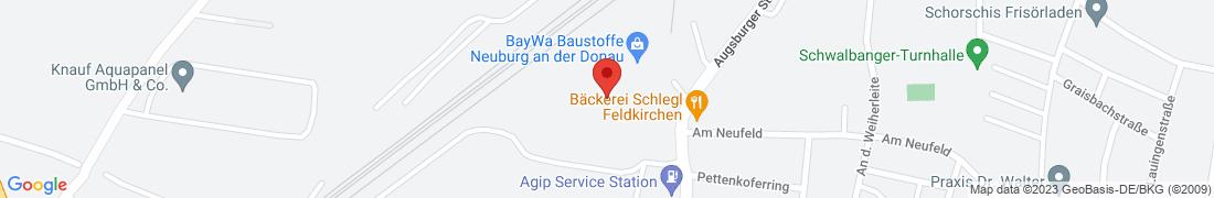 BayWa Tankstelle Neuburg Anfahrt