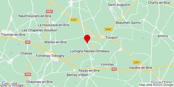 Google Map of 48.725682,2.954233