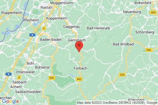Karte Weisenbach