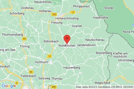 Karte Waldkirchen