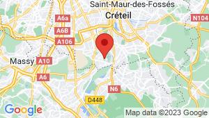 Carte de localisation du centre de contrôle technique VILLENEUVE LE ROI