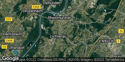 Google Map of Lichtenau