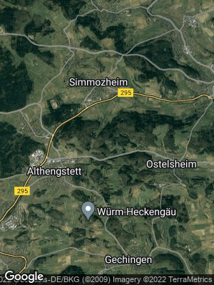 Google Map of Althengstett