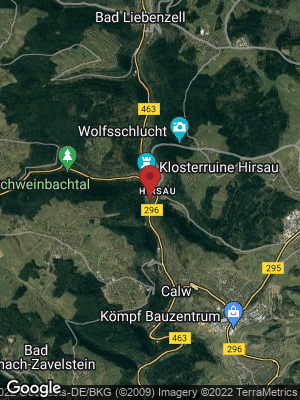 Google Map of Hirsau-Lützenhardter Hof