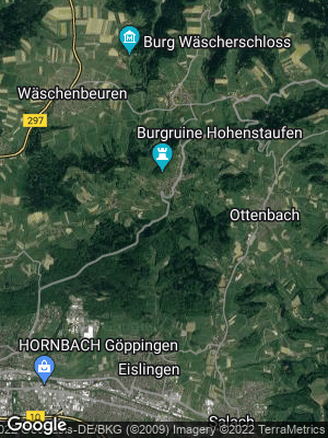 Google Map of Hohenstaufen