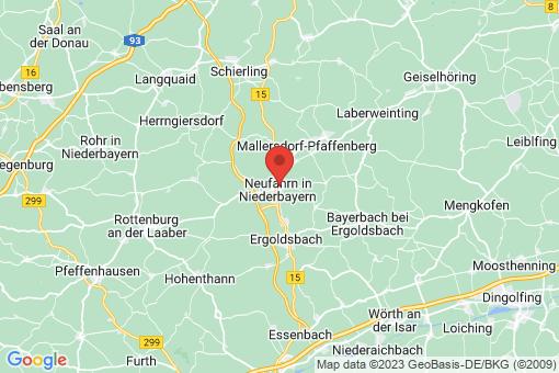 Karte Neufahrn in Niederbayern