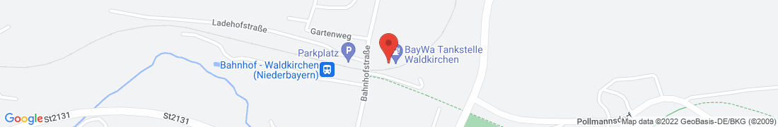 BayWa Tankstelle Waldkirchen Anfahrt