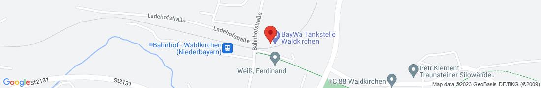 BayWa AG Waldkirchen Anfahrt