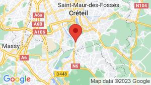 Carte de localisation du centre de contrôle technique VILLENEUVE SAINT GEORGES