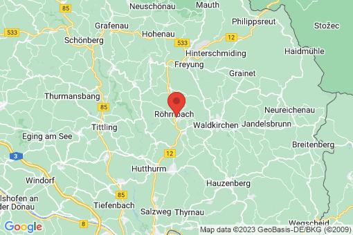 Karte Röhrnbach