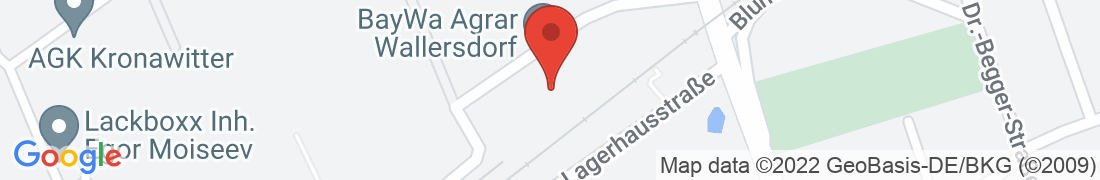 BayWa Agrar Wallersdorf Anfahrt