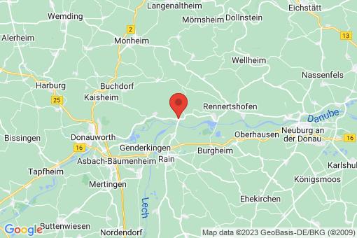 Karte Marxheim