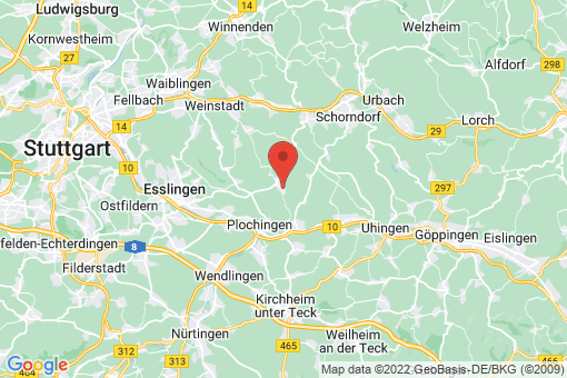 Karte Baltmannsweiler