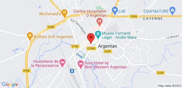 Site industriel à reprendre à Argentan (61)