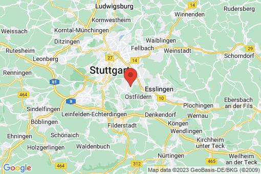 Karte Stuttgart Heumaden