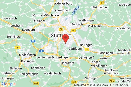 Karte Stuttgart Sillenbuch
